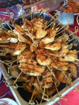 Charred Chicken Skewers