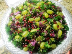 Holiday Massaged Kale Salad