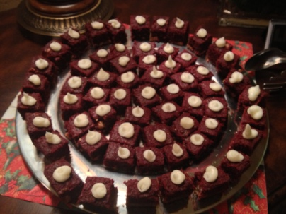 Cherie's Red Velvet Brownies