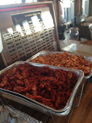 Shrimp & Crawfish Boil at Corinthian Sail Club