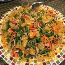 Green Bean & Orange Sambal Salad